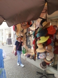<p>For Lillian and Sadie who love hats this shop was irresistible. 																																	</p>