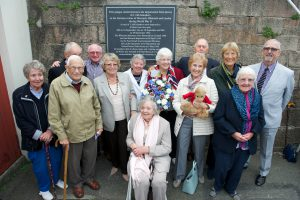Unveiling of new memorial plaque